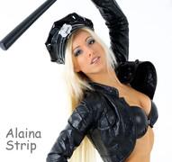 Stripper tanzt auf Party in München